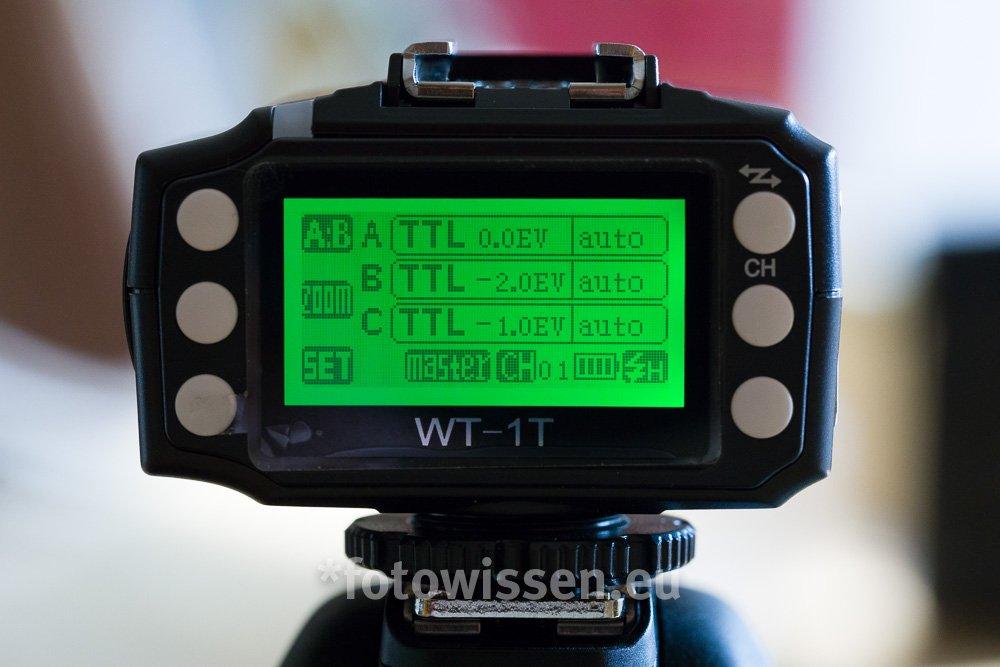Metz WT-1 Test Blitz entfesseln - Funksender und Empfänger