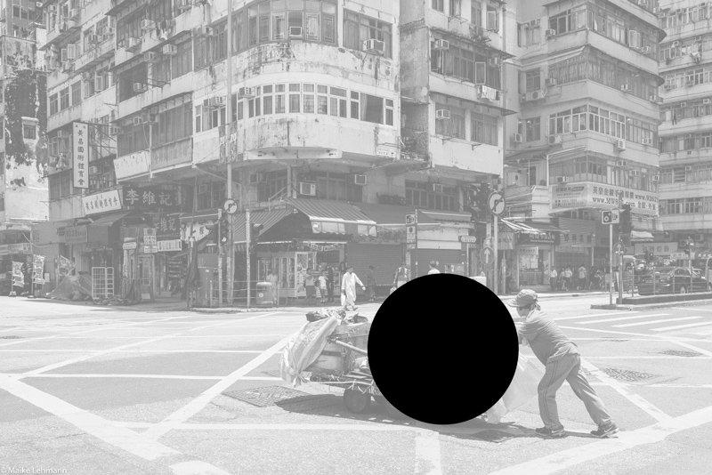 Bildbesprechnung Mikes Hongkong Zentraler Blickpunkt