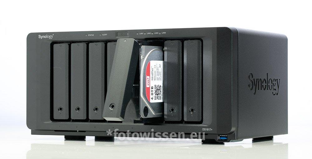NAS Festplattenspeicher - Mega Speicher für Fotografen
