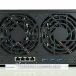 Synology NAS DS1817+ Geschwindigkeit und Stromverbrauch