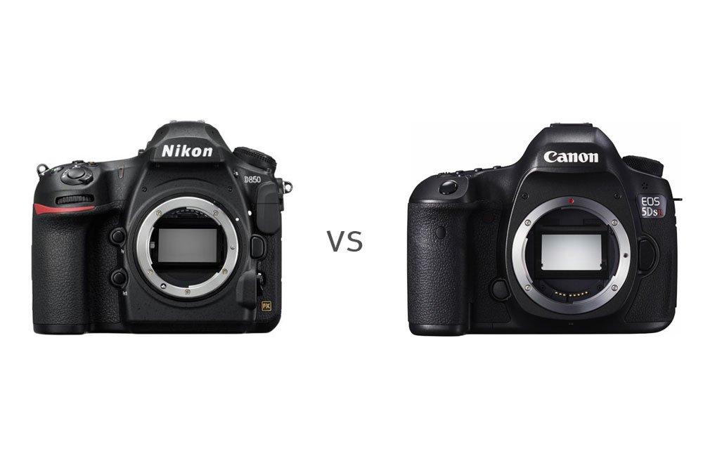 D850 versus 5DsR Vergleich