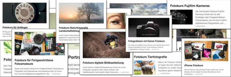 Die besten Fotokurse der Fotoschule Roskothen