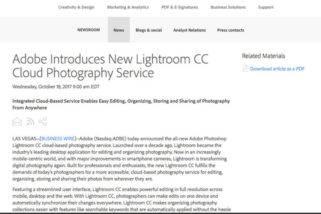 Upgrade: Lightroom ist tot! Zukünftig keine Lightroom Kaufversion *Meinung