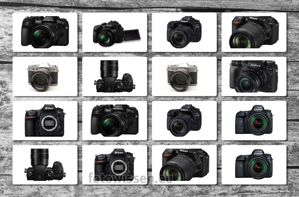 Die besten Kameras 2017 zu Weihnachten