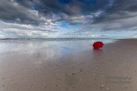 Norderney Teil 2 Der rote Regenschirm