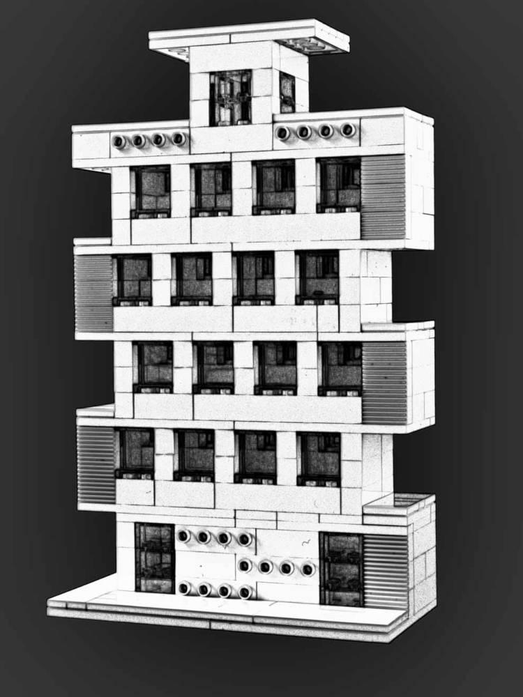 Von baukl tzen und bauhaus architektur fotowissen - Architektur skizze ...