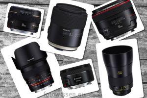 Das beste Normalobjektiv für Canon Spiegelreflexkameras