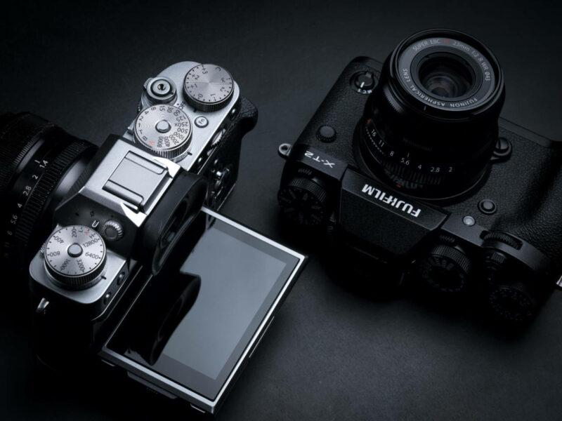 Die X-T3 wird bis auf das Dioptrieneinstellrad gleich aussehen wie die X-T2. Fujifilm auf der Photokina 2018 - Voreinsichten