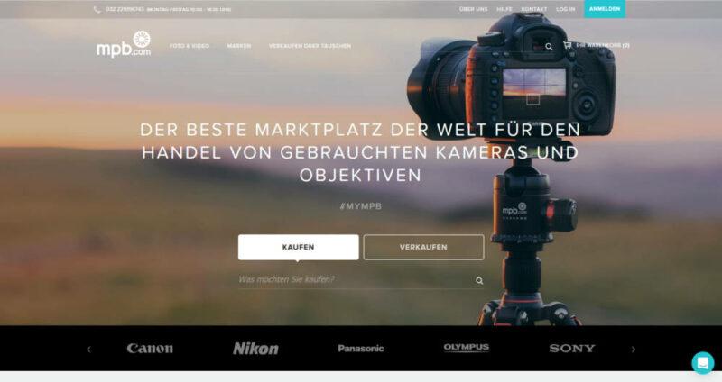mpb.com - Sicher gebrauchte Objektive und gebrauchte Kameras kaufen und verkaufen