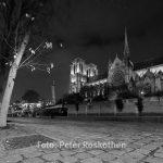 Paris Fotos - Notre Dame bei Nacht