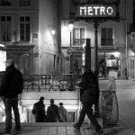 Eingang zur berühmten Pariser Metro