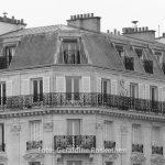 Eine typische Pariser Hausfassade