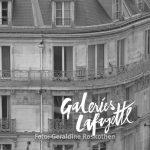 Paris Foto quadratisch Schwarzweiß