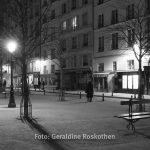 Straßenfotografie Paris s/w