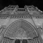 Die Front des Notre Dame