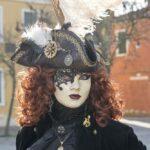 Pirat auf Burano - Maske Claudia