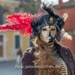 Maske auf Burano