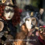 Masken beim Karveval 2018