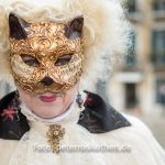 Maske beim Karneval in Venedig 2018