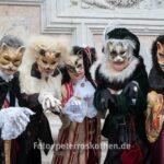Raubkatzen - Masken vor Chiesa di San Zaccaria