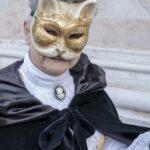 Maske vor Chiesa di San Zaccaria