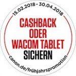 Canon Cashback Kameras und Objektive kaufen und sparen