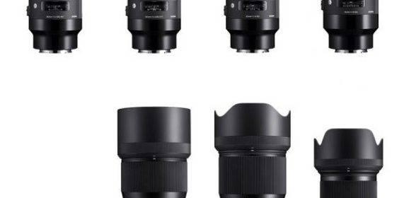 9 Sigma Art Objektive für Sony Alpha – Canon und Nikon sterben den leisen Tod