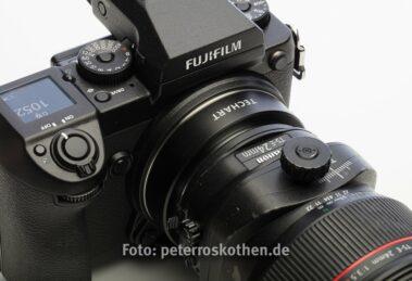 Fujifilm GFX 50S mit Canon TS-E 24mm F/3.5