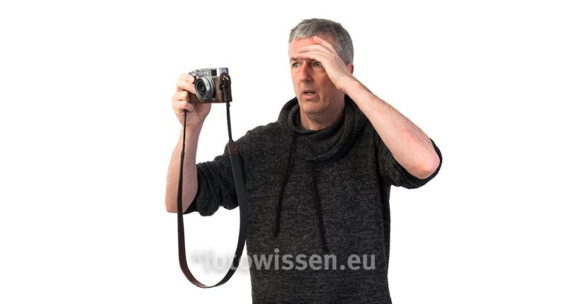 Hilfe, ich kann nicht mehr fotografieren! Sind meine Fotos schlecht? Erste Hilfe für Fotografen