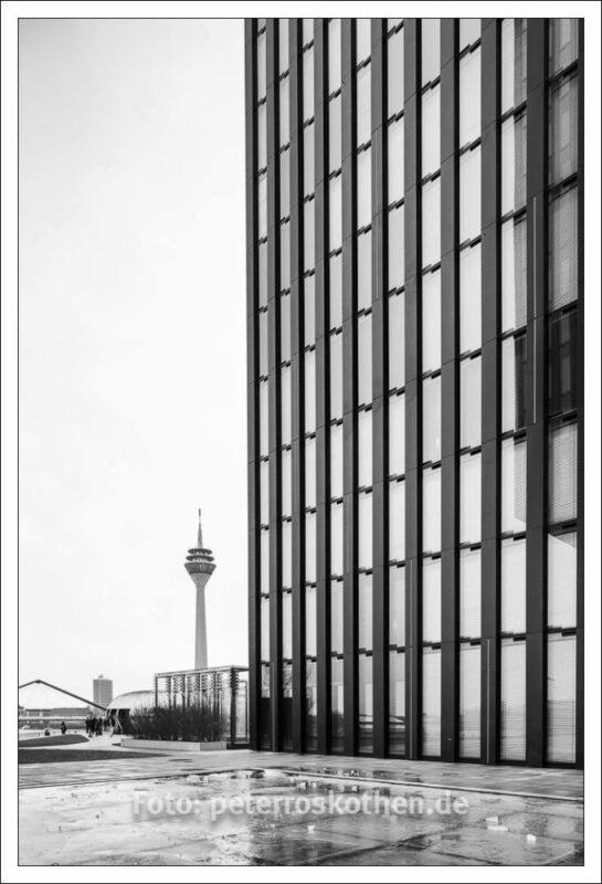 Rheinturm und Fassade