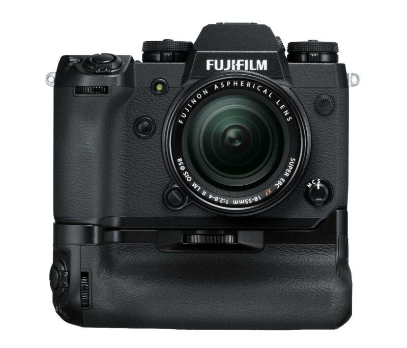 FUJIFILM X-H1 mit Batteriegriff