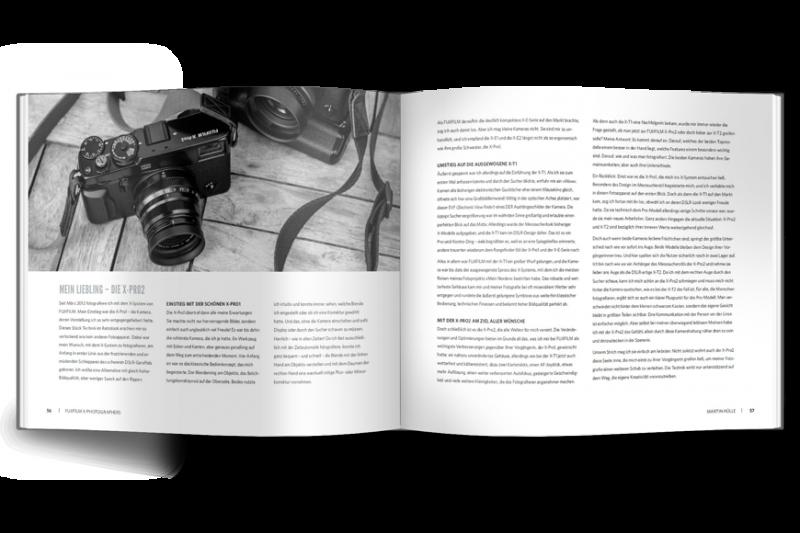 Auszug Buch Fujifilm X-Photographers - Franzis Verlag