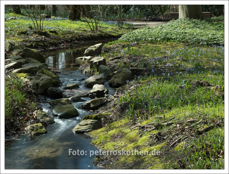 Frühlingsfotos - Auch diese Aufnahme wurde mit einem Graufilter lange belichtet