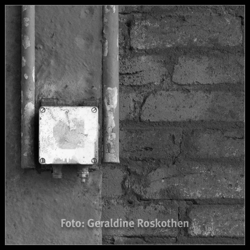 Weiß auf Grau - Landschaftspark Nord Schwarzweiß Fotos - Geraldine Roskothen