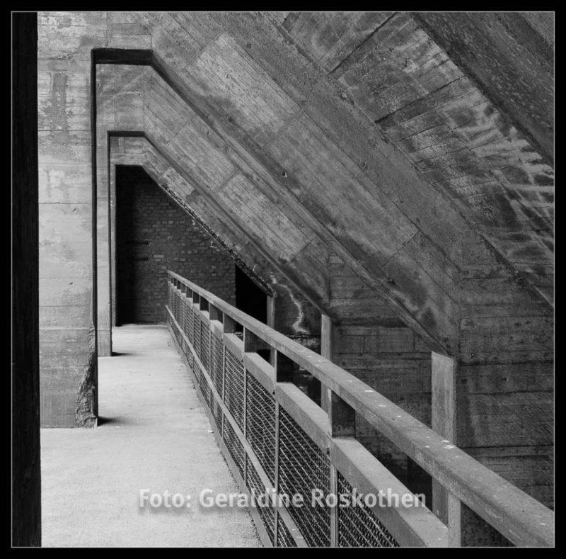 Bunker - Landschaftspark Nord Schwarzweiß Fotos - Geraldine Roskothen