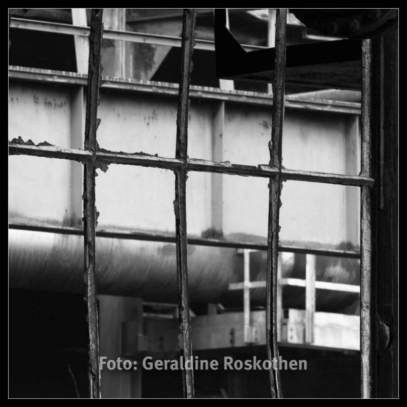 Verfall - Landschaftspark Nord Schwarzweiß Fotos - Geraldine Roskothen