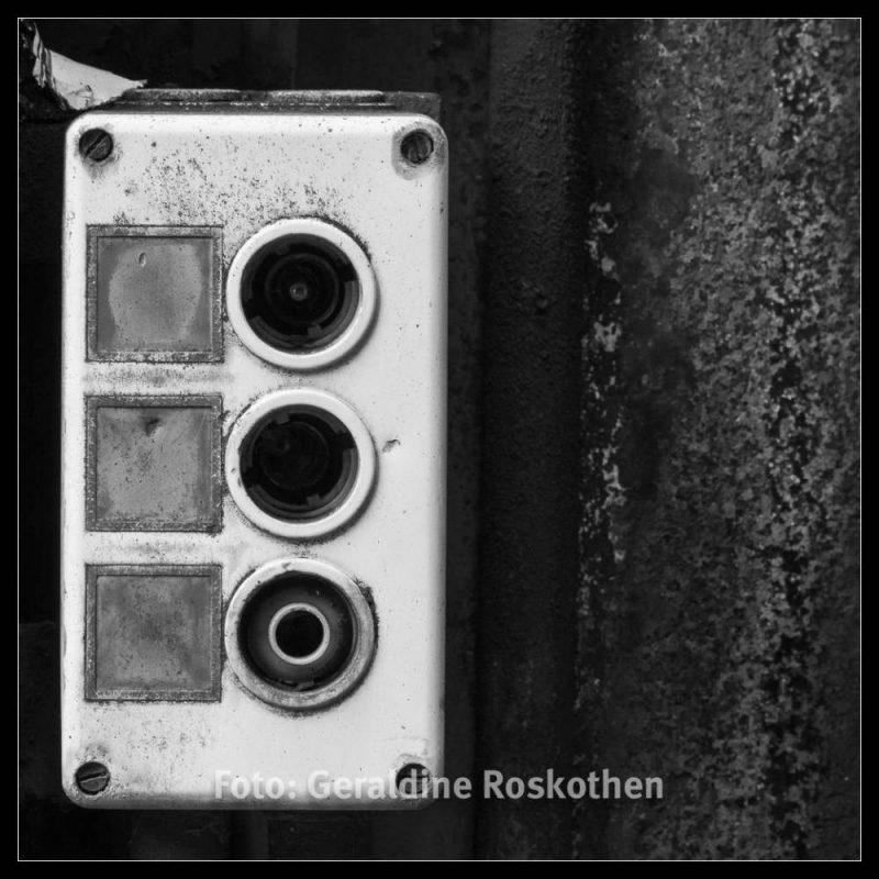 Drück Mich! - Landschaftspark Nord Schwarzweiß Fotos - Geraldine Roskothen
