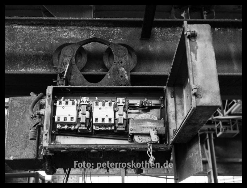 Schaltkasten - LaPaDu Schwarzweiß - Peter Roskothen
