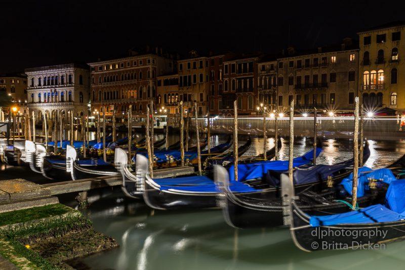 Canal Grande bei Nacht