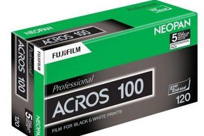 Fujifilm Neopan Acros 100 120 Filme (5-er Pack)