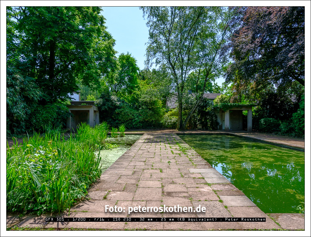 Gartenfoto mit HDR-Fotografie