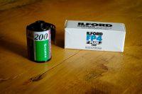 ASA bei analogem Film - Links 200 ASA, rechts 125 ASA. Heute heißt das ISO