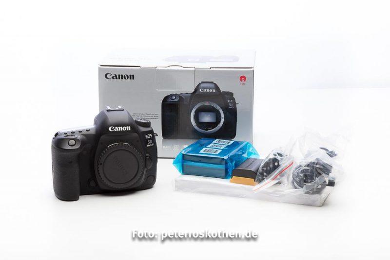 Gebrauchte Canon EOS 5D Mark IV im Topzustand zu verkaufen