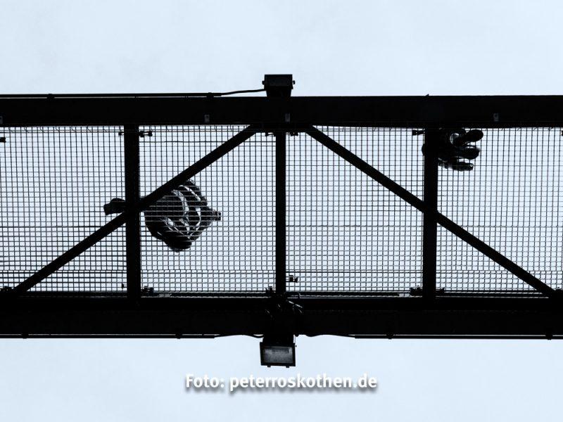 Weg auf Zeche Zollverein in Essen