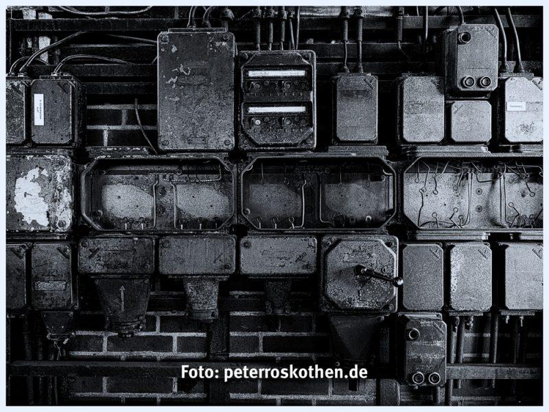 Schaltanlage auf Zeche Zollverein