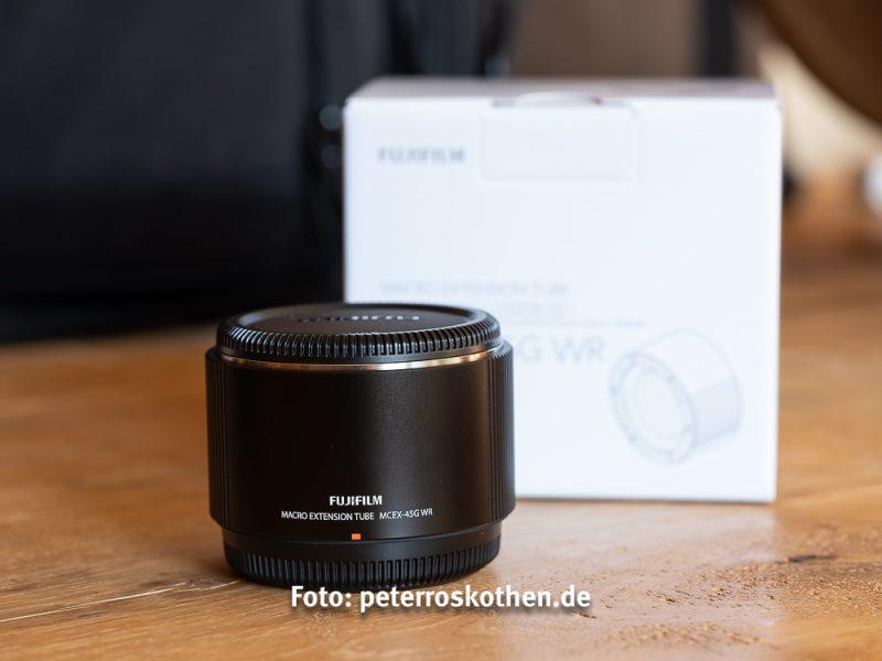 Makro Zwischenring MCEX-45G - Makro Zwischenring für GFX 50S Fujifilm Mittelformat - Makrofotos