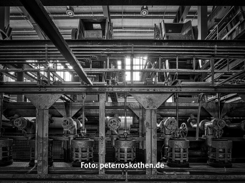 HDR Foto Zollverein Kohlewäsche