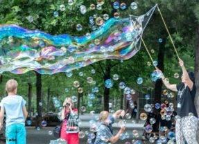 Riesenseifenblasen – Photo and Adventure