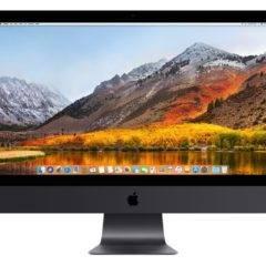 Apple iMac Pro für Fotografen und Lightroom Bildbearbeitung