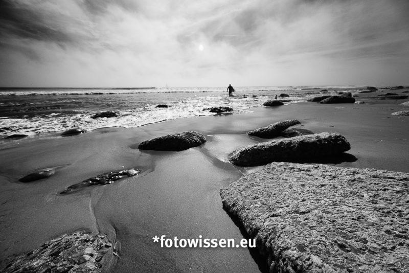 Bessere Urlaubsbilder - Die Froschperspektive am Strand für bessere Fotos